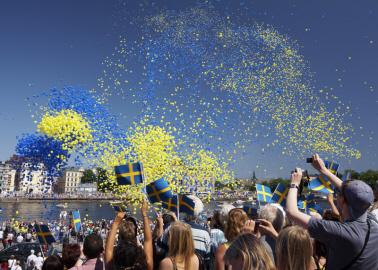 Suecia celebró su Día Nacional