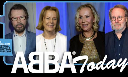¡ABBA, Nuevamente Juntos En Escena!