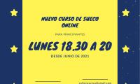 JUNIO 2021: NUEVO CURSO ONLINE PARA PRINCIPIANTES